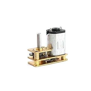 Bobury 3V 10x24mm N20 Reversed Getriebemotor- Hotel-Tür-Verschluss-Spielzeugmodelle DIY Roboter-Mini Metal Gear Reducer Motor