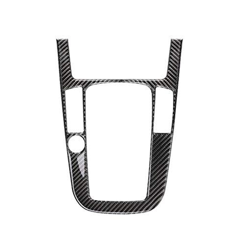 F-blue Auto-Auto-Gangschaltung-Control Panel-Carbon-Faser-Abdeckung B Typ Aufkleber replacemnt Für A4 A5 Q5 B8 Q3 A6 -