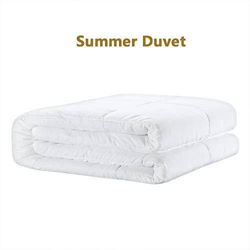 D & G The DUCK & GOOSE CO Hochwertige Leicht-Steppbett Sommerdecke Bettdecke Steppdecke Microfaser...