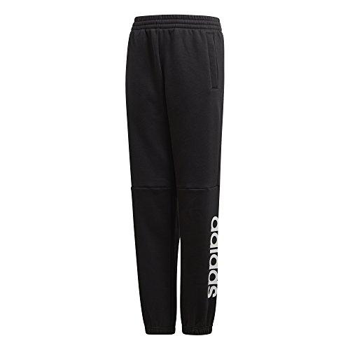 adidas Jungen Linear Hose, Black/White, 140