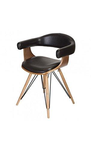 La Chaise Longue Fauteuil Kubrick, Hêtre, 53x45x86 cm
