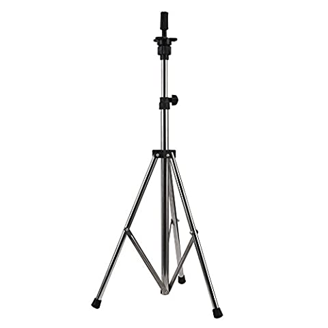 Neverland Adjustable Tripod Stand Holder Hairdressing Training Head Mold Mannequin Salon Hair Clamp With Carrying Bag