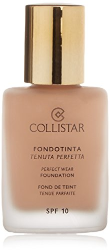 Collistar 41092 Perfect Wear SPF 10 Fondotinta - 1 Prodotto, Medium Beige