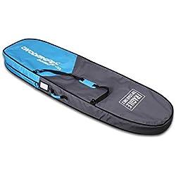 """Two Bare Feet Sac de Surf à Deux Pieds Nus - Sac de Voyage (Tailles 6'6""""/7'6""""/8'6""""), 6'6"""""""