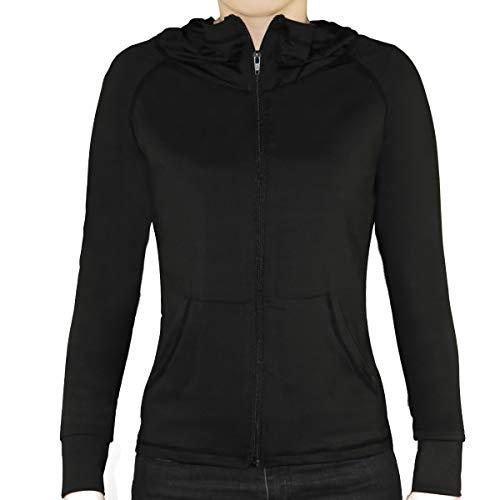 Damen Fitness Jacke Yoga Training Running Sport Lässige Hoodie Schnell trocknend Jacket Full Zip.YINI