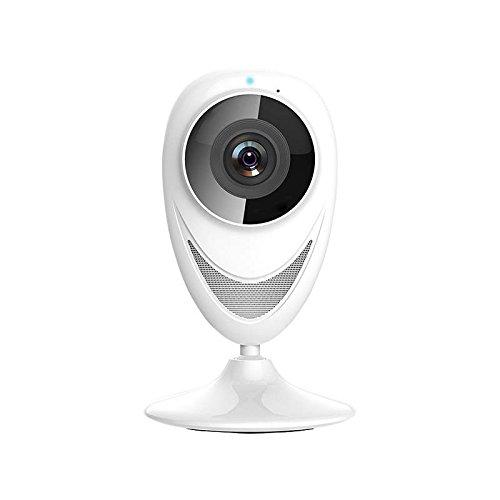 IP Cam Nachtsicht Nas Nacht, Wifi Kamera IOS Innen, Überwachungskamera Set, Wifi Kamera Heimkamera Motion Detection Capture Screenshot zum Telefon zu erinnern EC8-GY10 Verbinden mit Tablets und oder Android Handys