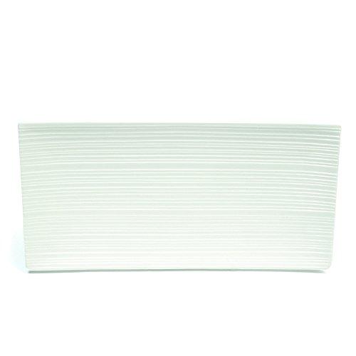 Maxwell et Williams Basics Cirque Plateau Rectangulaire, 16,5 cm, Blanc