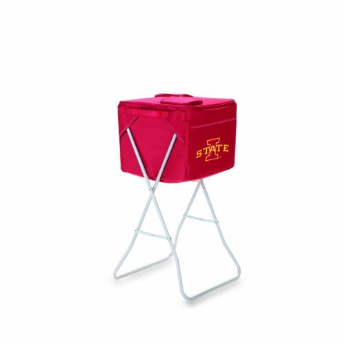 ncaa-iowa-state-cyclones-red-party-cube-portable-cooler-with-stand-by-picnic-time