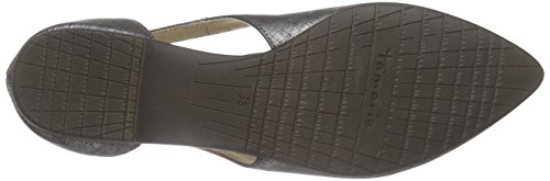 Tamaris - 22125, Ballerine Donna Nero (Schwarz (BLACK METALLIC 011))