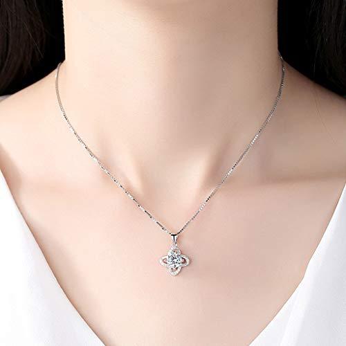Staresen Halskette Damen Halsketten Kette Schmuck Anhänger Halskette Hochzeitsschmuck Kette Mädchen Geburtstagskleid Valentinstag Geschenk Accessoires