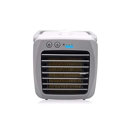 Jamicy Tragbare USB Mini Klimaanlage | Mobile Klimaanlage | Klimagerät | Klima Ventilator mit Fernbedienung | Luftreiniger | Luftbefeuchter Stummschalten | Luftbefeuchtung | Klima Anlage | Air Cooler