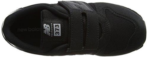 New Balance Unisex-Kinder Kv373aby M Sneakers Schwarz (Black)
