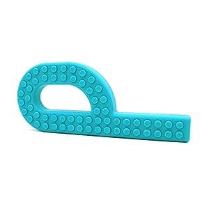 Ark Therapeutisch Greifer Ziegelrot Chewy P, Handgehaltene Oral Sensorisch Kau, Special Needs, Adhd , Beißen, Kau