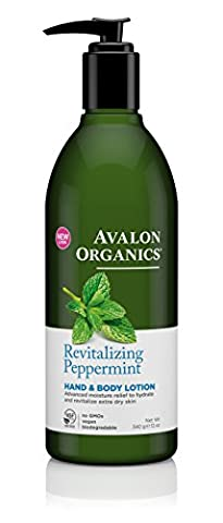 Avalon Organics Peppermint Hand and Body Lotion 350ml