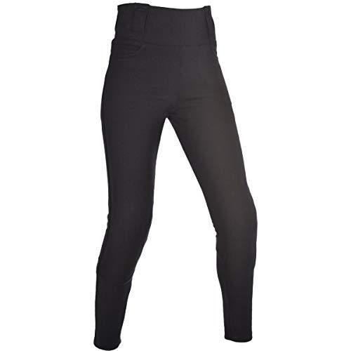 Oxford Donna IN KEVLAR PER MOTO rivestito super leggings pantaloni - Nero (CORTO) - Nero, 50