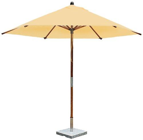 bambrella R-S/Kaki 2,5m laminato rotondo bambù ombrellone/Kaki