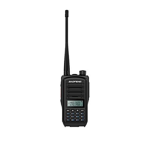 Festnight BAOFENG UV-7R Zwei-Wege-Radio 136-174/400-470 MHz VHF/UHF Dual-Band-Dual-Uhr-Handheld-Radio-Transceiver Interphone 128 Speicherkanäle Voice Broadcast Battery Sparen Walkie Talkie FM Radio - Zwei-wege-radio Fm
