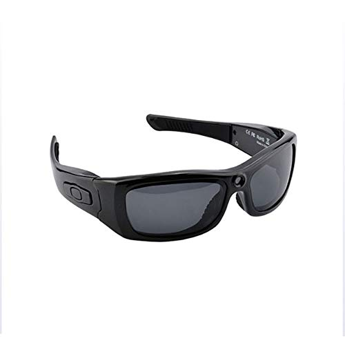 HMJZ 1080P Bluetooth Smart Brillen V4.1 Outdoor-Sportarten mit DV-Polarisationsbrillen Tragbarer Videobrille
