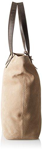Timberland Tb0m5505, Borsa a Spalla Donna, 16x36x36 cm (W x H x L) Marrone (Flint)