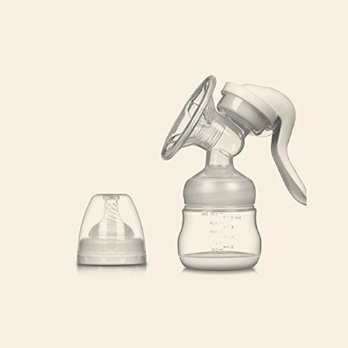 VOSMEP Handmilchpumpe BPA-frei &100% Lebensmittelqualität Manuelle Brustpumpe SH048