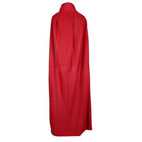 Preisvergleich Produktbild Gazechimp Halloween Zauberer Hexe Vampir Umhang Karneval Fasching Kostüm umhänge Cosplay Hexen Robe - Erwachsene
