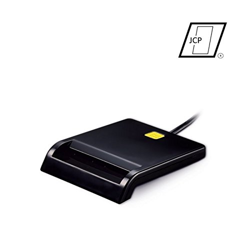 Lector DNIe [Lector de Tarjetas USB 2.0] [ISO 7816] [Compatible con Windows Vista, XP, 7, 8 y 10] [Plug and Play]