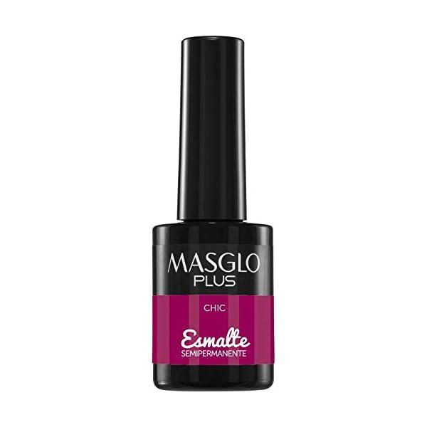 Masglo PLUS Esmalte de uñas Semipermanente, color CHIC 15mL