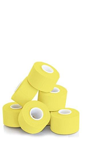 KK Hygiene Sporttape 3,8 cm x 10 m gelb, 1er Pack (1 x 6 Stück)