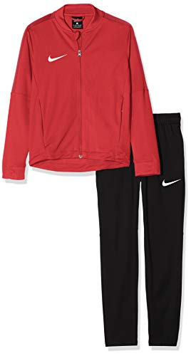 Nike Kinder Trainingsanzug Academy16 Knit 2, rot (University Red/Black/Gym Red/White), S, 808760-657