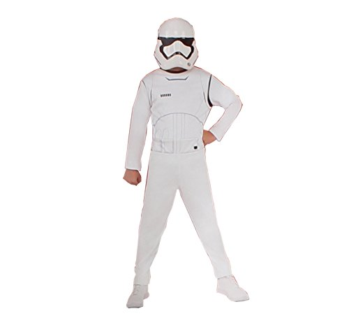 Star Wars Stormtrooper Kostüm, Mehrfarbig, M (Rubie's 620880-M) - Wars Star Kostüme Stormtrooper