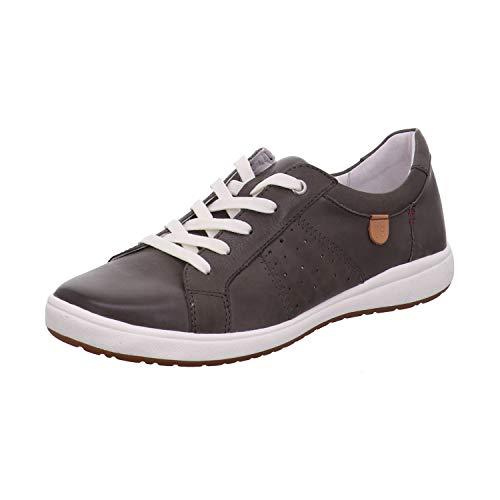 Josef Seibel 67701 Caren 01 Damen Low-Top Sneaker,Halbschuh,Schnürschuh,Strassenschuh,Business,Freizeit,grau,39 EU