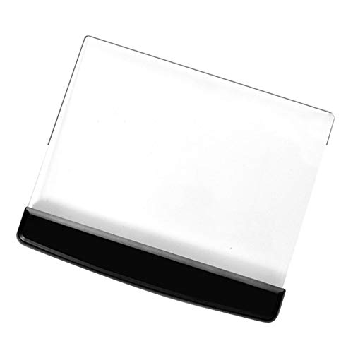 HoganeyVan Portable Ultra-Thin Flat Plate Panel Reading Light Students Night Vision Light Eye Protect Battery Plastic Book Light Lamp Vision Flat Panel