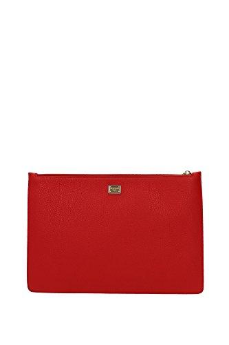 BI2182AB50880300 Dolce&Gabbana Pochette de soirée Femme Cuir Rouge Rouge
