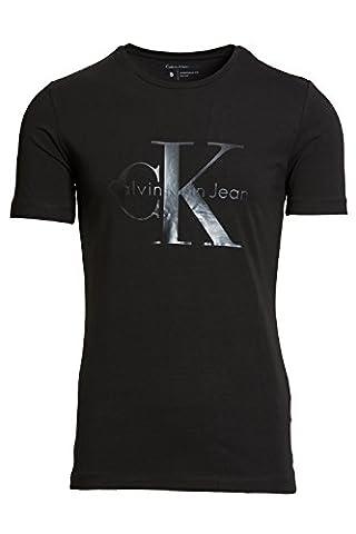 CALVIN KLEIN J30J301089 TERCER BLACK T-SHIRT Homme BLACK S
