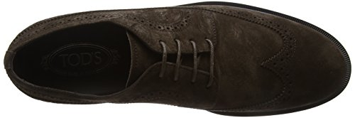 Tod's Shoes Suede, Mocassins Homme Brown (Testa Moro)