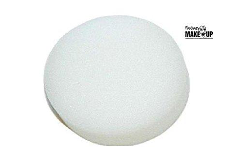 Sachet 6 demi éponges à maquillage rondes Application fard eau ou gras peinture