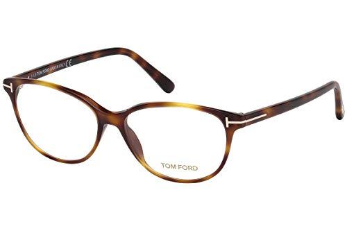 Lunettes Tom Ford FT5421 53-14-140 Havana marron clair avec verres échantillons 053 TF5421