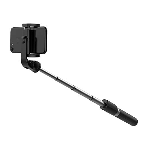 Bluetooth Selfie Stick with Tripod,Selfie Stick Wireless Remote Controlled Tripod Widely Compatible with iPhone XS MAX/XR/XS/X/8/8 Plus/Galaxy Note 9/S9/S9 Plus/Note 8/S8/S8 Plus/Google More - Black