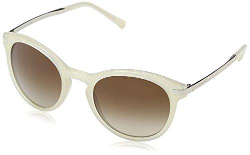 Michael Kors Damen ADRIANNA III 330413 53 Sonnenbrille, Milky Crystal/Smokegradient,