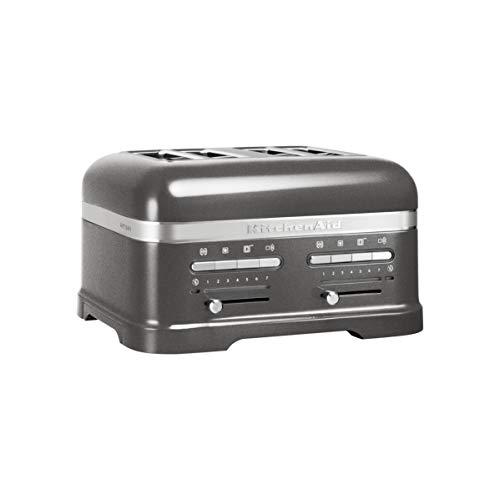 KitchenAid - 5KMT4205EMS - Grille-pains, 2500 watts, médaillon argent