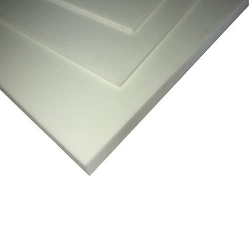 2,5 mm Fiberglass FR4 white sheet size 520x250 mm - plaque fibre de verre époxy