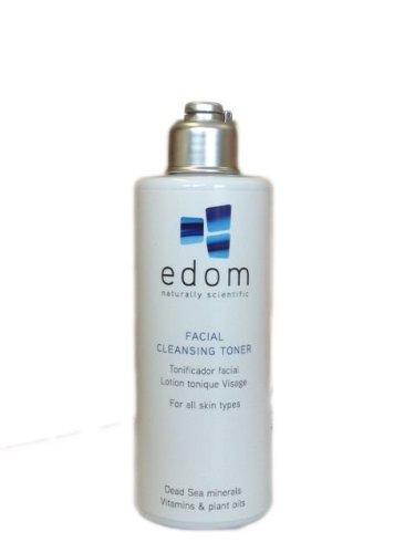 Edom - Facial Cleansing Toner - Gesichtswasser vom Toten Meer für sensible, normale und Mischhaut - Gesichtspflege - Hautpflege vom Toten Meer - Gesichtsreinigung Unisex für ein frisches und gereinigtes Hautbild - Gesichtsreinigung und Peeling - Reinigungsmilch und Cremes für das Gesicht
