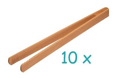 Grillzange 40 cm, 10 STÜCK