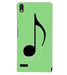 PRINTSHOPPII MUSIC SIGN Back Case Cover for Huawei Ascend P6::Huawei P6::Huawei Ascend P6 Dual