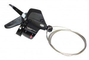 Schalthebel Acera SLM 390Black Triple Links, 1800mm lg.,