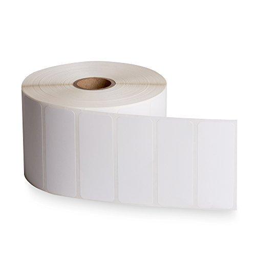 amazon FBA direkt thermisch Versand Etiketten 25/20,3cm (6,7cm) X 2,5cm-2000Pro Rolle-Kompatibel mit neatoscan und Zebra Drucker 2 PACK (4000 Labels (Drucker 2x1 Zebra Etiketten)