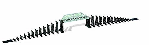 Mehano f292 - set accessori per trenini elettrici: ponte con elementi di sostegno