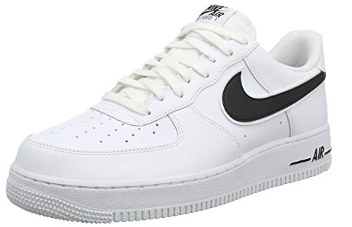 brand new 7d362 0b457 Nike Air Force 1  07 3, Baskets Homme, Blanc (White Black