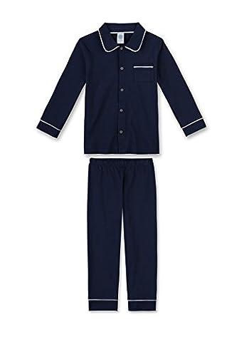 Sanetta Jungen Zweiteiliger Schlafanzug 231932, Gr. 140, Blau (neptun 50226)