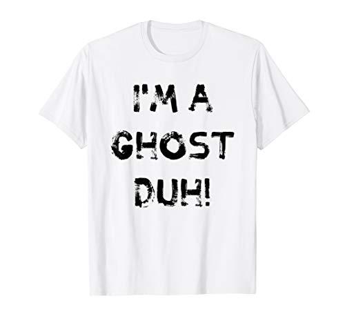 Lustige Geschenke I'm a Ghost Duh DIY Lazy Halloween Kostüme - Einfach Lustige College Kostüm